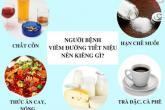 Viêm đường tiết niệu kiêng gì
