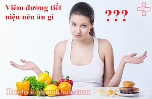 Viêm đường tiết niệu nên ăn gì