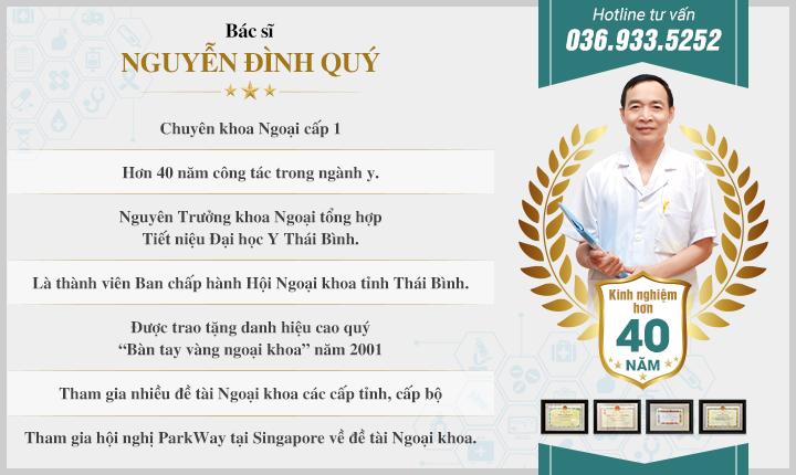 Bác sĩ Nguyễn Đình Quý