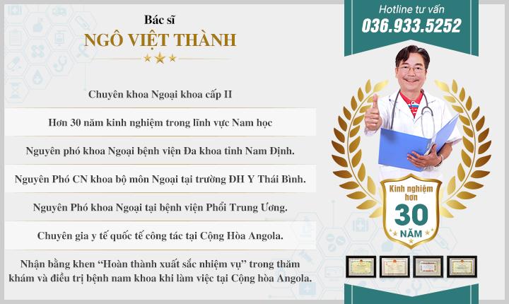 Bác sĩ Ngô Việt Thành